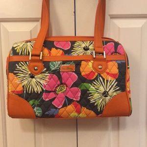 Beautiful Vera Bradley floral satchel
